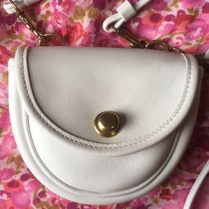 Coach Vintage Mini Whilte Belt Bag 9826